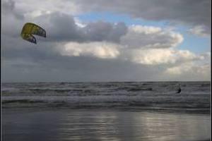 Περιπέτεια για δύο χειριστές kite surf